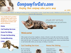 Company for Cats - Cat Sitting, London