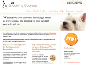 Delights Grooming Courses - Dog Grooming Courses, London