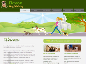 Devon Dog Walking - Dog Walking Directory, Devon