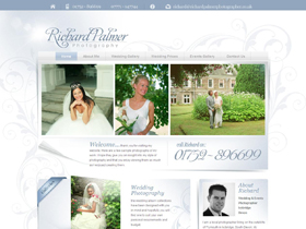 Richard Palmer Photography Website, Ivybridge, Devon