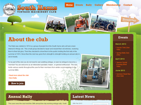 South Hams Vintage Machinery Club Website Devon