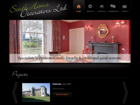 South Hams Decorators Website, Ivybridge, Devon