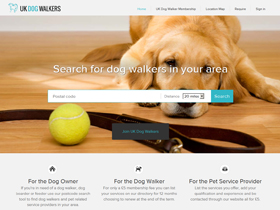 UK Dog Walkers - Dog Walking Directory