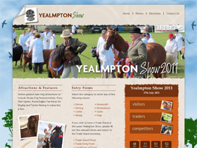 Yealmpton Show Website Devon